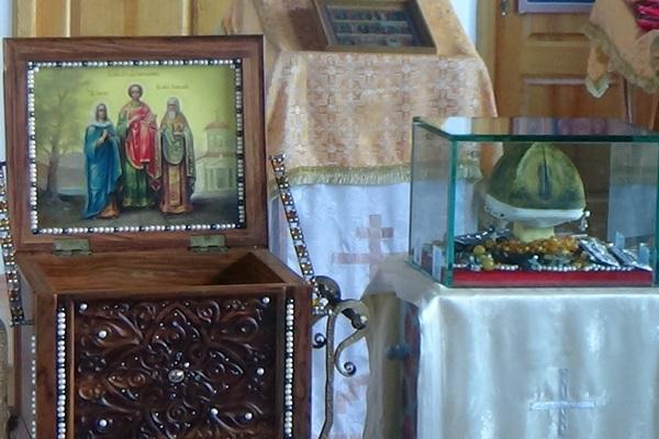 В ИК-5 привезли мощи великомученика и целителя Пантелеимона