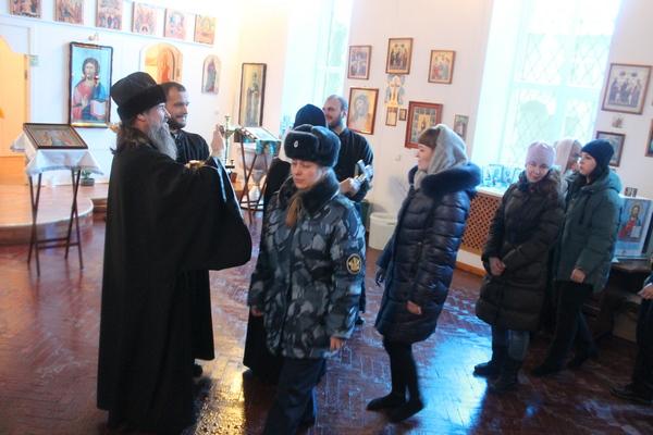 ИК-4  ГУФСИН России по Челябинской области посетил Копейский викарий Челябинской епархии РПЦ епископ Пармен