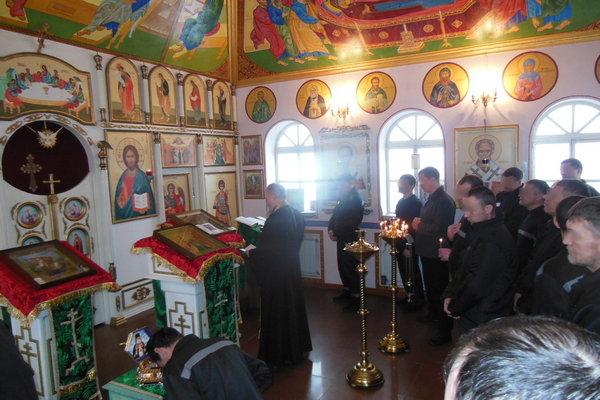 В ИК-10 ГУФСИН России по Челябинской области побывали мощи Святителя Луки Симферопольского